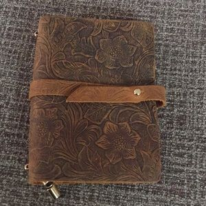Leather Embossed Travelers Notebook